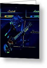 Ac Dc Electrifies The Blues Greeting Card