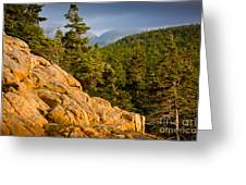 Acadian Mountains Greeting Card