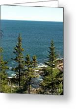 Acadia's Atlantic Greeting Card