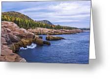 Acadia's Coast Greeting Card