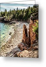 Acadia's Monument Cove Greeting Card