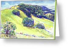 Acalanes Ridge, Lafayette, Ca Greeting Card