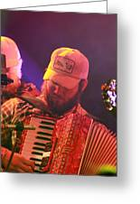 Accordion Player Greeting Card