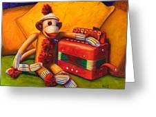 Accordion Greeting Card by Shannon Grissom