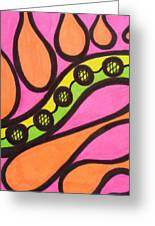 Aceo Abstract Design Greeting Card