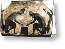 Achilles & Ajax, C540 B.c Greeting Card