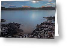 Achnahaird Bay And Assynt Mountains Greeting Card