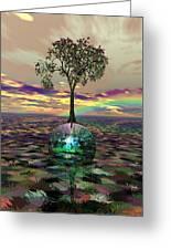 Acid Tree Greeting Card