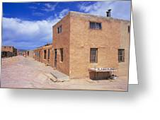 Acoma Pueblo In New Mexico Greeting Card