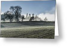 Acomb Misty Day Greeting Card