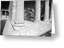 Acropolis 3 Greeting Card