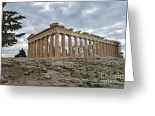 Acropolis Of Athens, Greece Greeting Card
