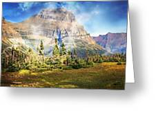 Across The Meadow Greeting Card