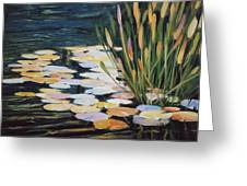 Across The Pond Greeting Card