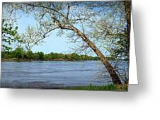 Across The Wide Missouri Greeting Card