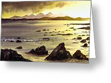 Across To Gigha And Jura Greeting Card