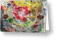 Acrylic Abstract 15-u.uuu Greeting Card