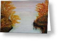 Acrylic Msc 064 Greeting Card