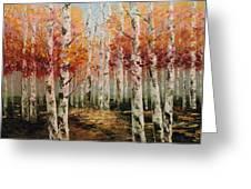 Acrylic Msc 096 Greeting Card