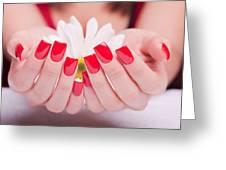 Acrylic Nail Greeting Card