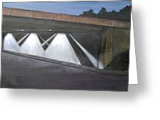 Acting Up Under The Bridge Greeting Card