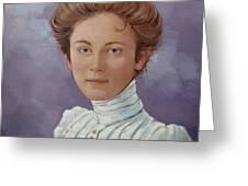 Ada Douglas Greeting Card by Jerrold Carton