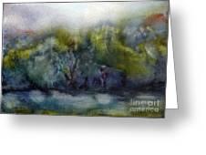 Ada River Greeting Card