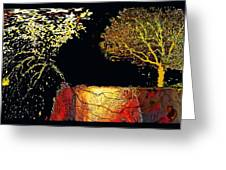 Adam And Eve Were Here. Greeting Card