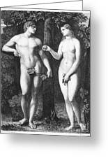 Adam & Eve Greeting Card