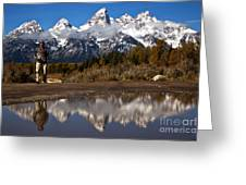 Adam Jewell At Schwabacher Landing Greeting Card