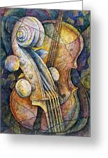 Adam's Cello Greeting Card