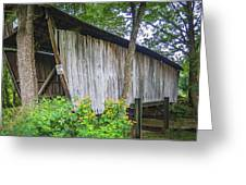 Adams/san Toy Covered Bridge  Greeting Card