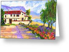 Adamson Home Malibu Greeting Card