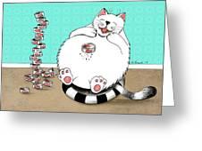 Addicted To Tuna Greeting Card