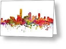 Adelaide Australia Cityscape 08 Greeting Card