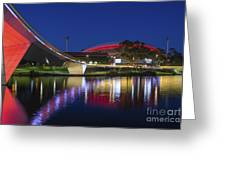 Adelaide Oval Elegance Greeting Card
