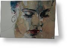 Adele - Make You Feel My Love  Greeting Card
