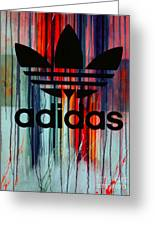 Adidas Plakative - Typografie Greeting Card