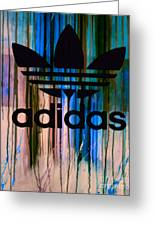 Adidas Plakative - Typografie 01 Greeting Card