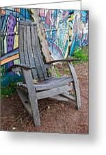 Adirondack Chair ? Greeting Card