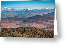 Adirondack High Peaks Greeting Card