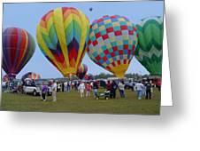 Adirondack Hot Air Balloons Greeting Card