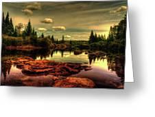 Adirondack Inlet Greeting Card