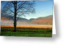 Adirondack Landscape 1 Greeting Card
