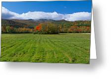 Adirondack Mountains, Upper State New Greeting Card