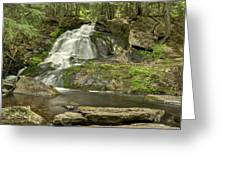 Adler Falls Greeting Card