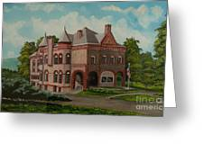 Administration Building Greeting Card