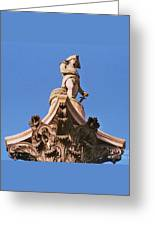 Admiral Nelson's Sculpture, London Greeting Card