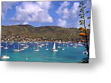 Admiralty Bay Greeting Card by Thomas R Fletcher