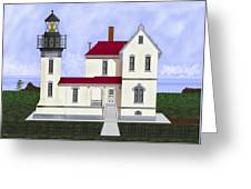 Admiralty Head Light Station Circa 1920 Greeting Card